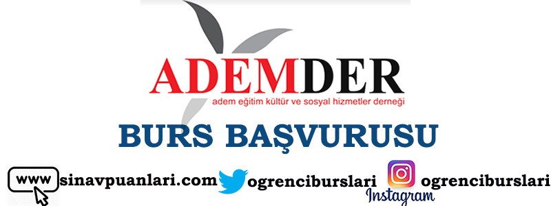Photo of ADEMDER Burs 2019 – 2020